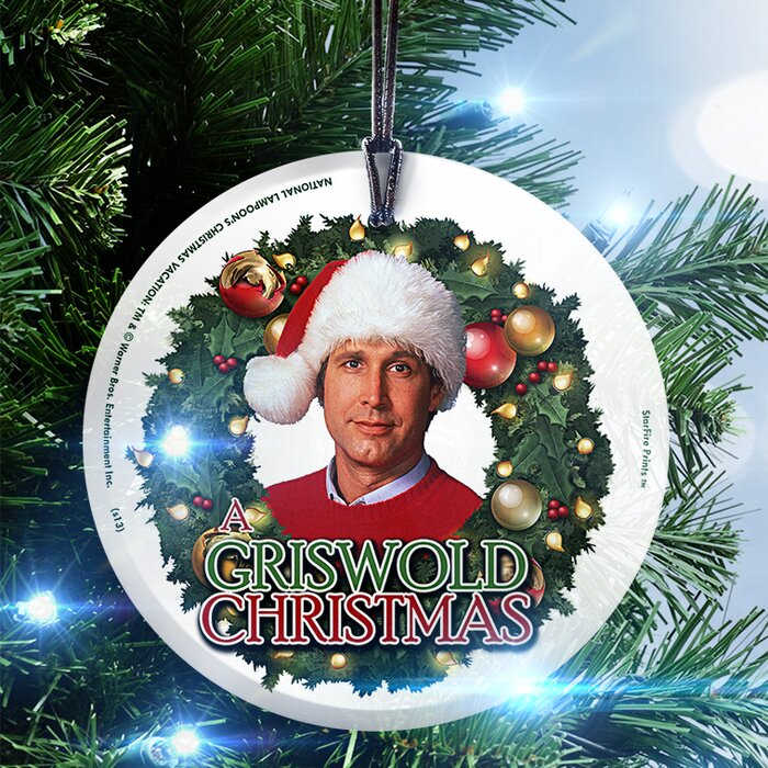 National+Lampoons+Christmas+Vacation+Griswold+Christmas+Hanging+Shaped+Decoration